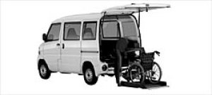 Mitsubishi Minicab Wheelchair Spec. Tailgate Lift Type 2002 г.