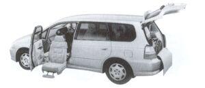 Honda Odyssey ALMAS,Lift-upPassengerSeat vehicle Ltype 2002 г.