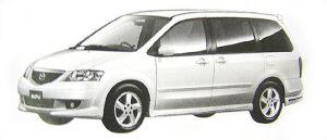 Mazda MPV Sports (V6 3.0L) 7-seaters, FF 2002 г.