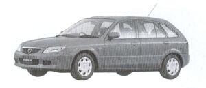 Mazda Familia S-WAGON RS 2002 г.