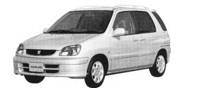 """Toyota Raum SEPARATE """"G PACKAGE"""" 2002 г."""