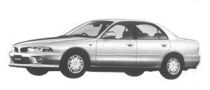 Mitsubishi Galant V6 2.0 24V SUPER EXCEED 1994 г.