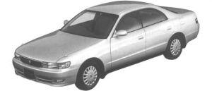 Toyota Chaser 2.0 AVANTE 1994 г.