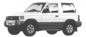 Mitsubishi Pajero METALIST TOP XJ 1994 г.