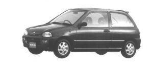 Subaru Vivio 3 DOORS SEDAN em-s 1994 г.