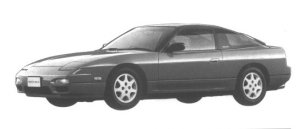 Nissan 180SX TYPE R 1994 г.
