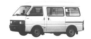 Mazda Ford J80 VAN HIGH ROOF 5DOOR FULL WIDE&LOW 2.2D 1994 г.