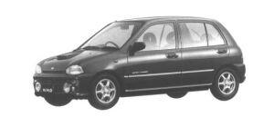 Subaru Vivio GX-L 5 DOORS 1994 г.