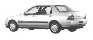 Isuzu Gemini C/C 4WD 1994 г.