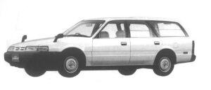 Mazda Capella CARGO VAN 2000 DIESEL DX 1994 г.