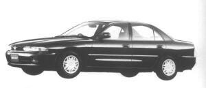 Mitsubishi Galant 1.8 16V EXE 1994 г.