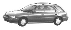 Subaru Impreza 4WD SPORT WAGON 1.6L CS-EXTRA 1994 г.