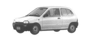 Subaru Vivio 3DOOR VAN e 1994 г.