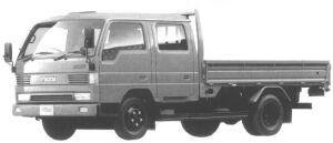 Mazda Titan 2T W-CAB, WIDE CAB, LONG BODY 4.6L 1994 г.