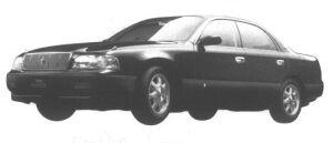 Toyota Crown Majesta C TYPE i-FOUR ACTIVE 4WS 1994 г.
