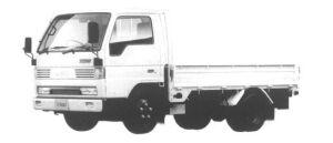 Mazda Titan 1.5T STANDARD CAB&BODY, WIDE&LOW 3.5L 1994 г.