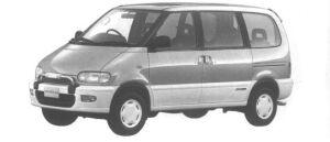 Nissan Serena 4WD RV DIESEL TURBO 2000 1994 г.