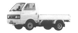 Nissan Vanette Truck 4WD SUPER LOW, DOUBLE TIRE GL 1994 г.