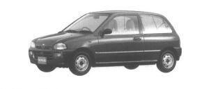 Subaru Vivio 3DOOR VAN ef 1994 г.