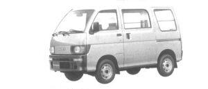 Daihatsu Hijet VAN SUPER DELUXE HIGH ROOF 4WD 1994 г.
