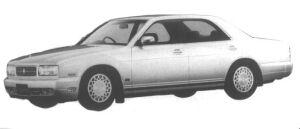 Nissan Cedric V30 TWIN CAM TURBO VIP 1994 г.