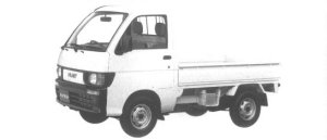 Daihatsu Hijet STANDARD 2WD 1994 г.