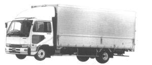 Nissan Diesel Condor WIDE, WING VAN 1994 г.