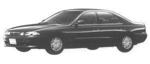 Mitsubishi Eterna V6 1.8 24V VISAGE 1994 г.