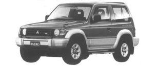 Mitsubishi Pajero METALIST TOP WIDE ZR-I 1994 г.