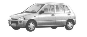 Subaru Vivio 5 DOORS SEDAN es 1994 г.