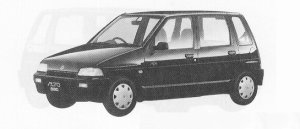 Suzuki Alto 5DOOR P4 1991 г.