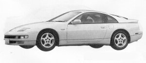 Nissan Fairlady Z 300ZX TWIN TURBO 1991 г.