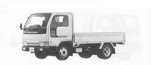 Nissan Diesel Condor 20 STANDARD, FULL SUPER LOW 1991 г.