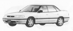 Subaru Legacy 4WD 4DOOR SEDAN 2.0L RS 1991 г.