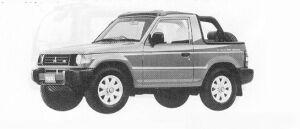 Mitsubishi Pajero J TOP VS 1991 г.