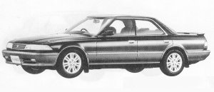 Toyota Mark II HARD TOP 2.5GT TWIN TURBO 1991 г.