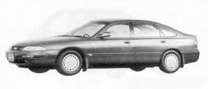 Mazda Ford Telstar TX5 20Vi 1991 г.