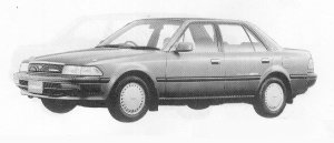 Toyota Corona SEDAN FULL TIME 4WD 1.6 SELECT SALOON 1991 г.