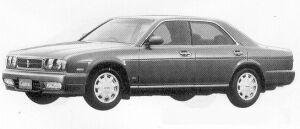Nissan Cedric V30 TWIN CAM TURBO GRAN TOURISMO ALTIM 1991 г.