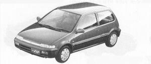 Honda City FIT  CE 1991 г.