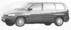 Mazda Efini MPV VELOUR SALOON  TYPE-A 1991 г.