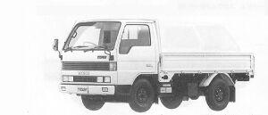 Mazda Titan 1.5T STANDARD CAB&BODY HIGH FLOOR 2500CC 1991 г.