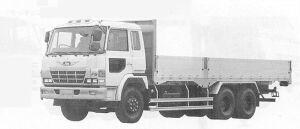 Hino Super Dolphin FS 10.75T 1991 г.