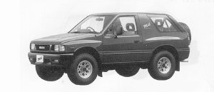Isuzu Mu METAL TOP 1991 г.