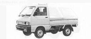 Daihatsu Hijet 4WD SUPER DELUXE 1991 г.