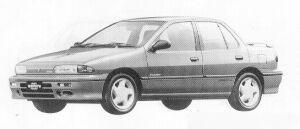 Isuzu Gemini SEDAN 1600 DOHC TURBO IRMSCHER R 1991 г.