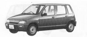 Suzuki Alto 5DOOR CE-X 1991 г.