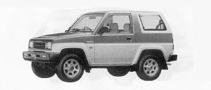 Daihatsu Rocky SE 1991 г.