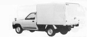 Toyota Hilux REFRIGERATOR 850KG SUPER SINGLE 1991 г.