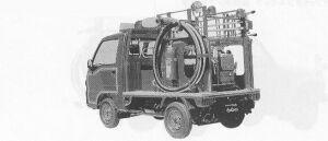 Subaru Sambar Truck FIRE ENGINE 4WD 1991 г.